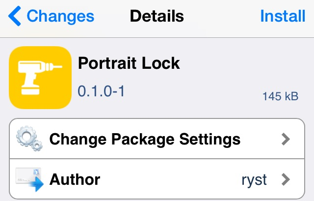 portrait lock