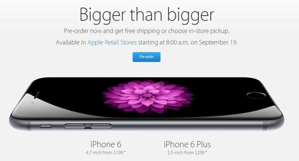 Pre-order-iPhone 6-iPhone 6 Plus