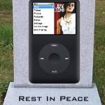 Rest In Peace Apple iPod Classic