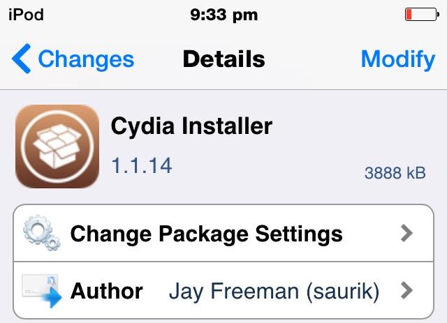 Cydia 1.1.14