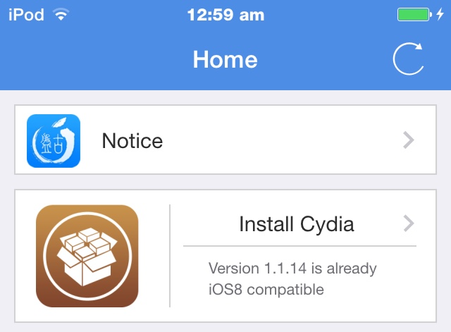 how to get cydia without jailbreak or computer 2014