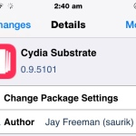 Cydia Substrate 0.9.5101 Released With Add-ons For Developers