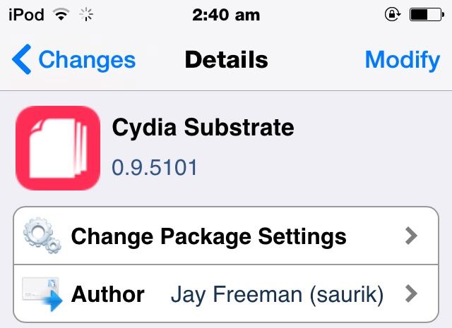 Cydia Substrate 0.9.5101