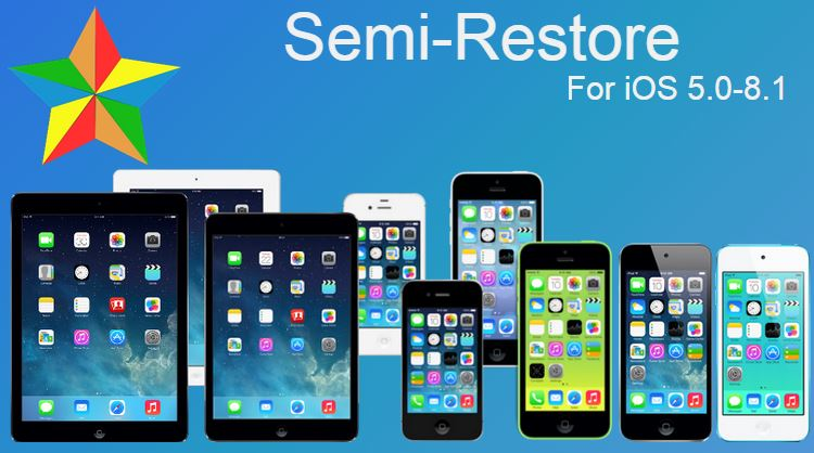 Semi-Restore for iOS 5.0-8.1