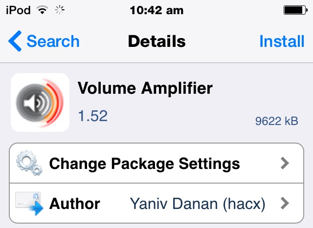 Volume amplifier