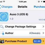Auxo 3 For iOS 8 Now Available In Cydia