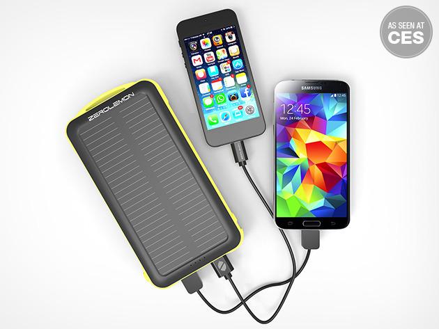 ZeroLemon SolarJuice 20000mAh Battery Deals