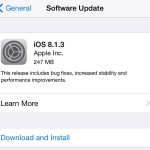 iOS 8.1.3 for iPhone, iPad and iPod Touch released