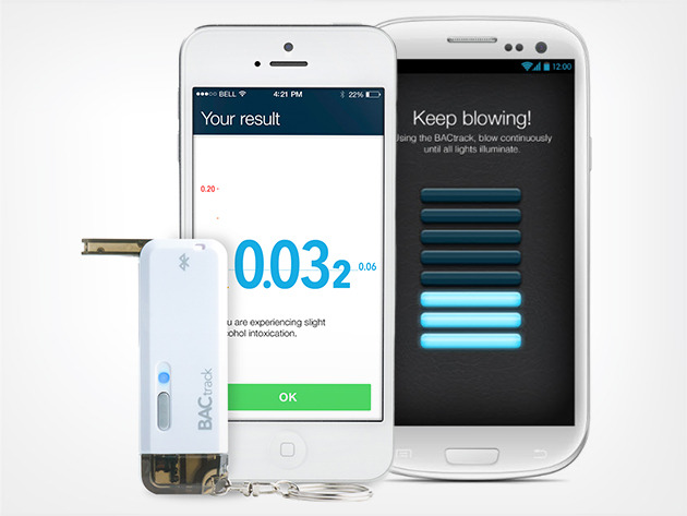 BACtrack Vio Smartphone Breathalyzer Stacksocial
