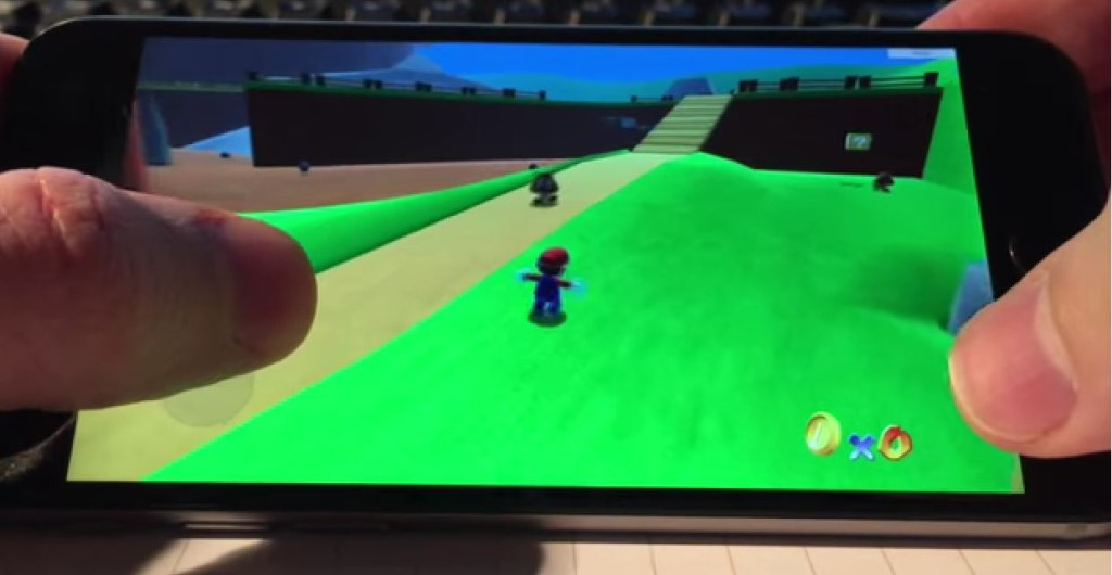 Super Mario 64 HDiPhone 6