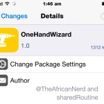OneHandWizard Tweak Lets You Use Your iPhone 6/6 Plus With One Hand