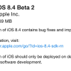 Apple Seeds iOS 8.4 Beta 2 For Developers
