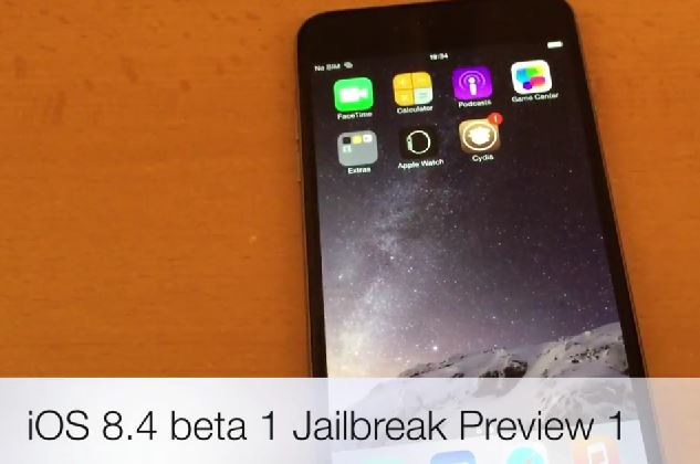 iOS 8.4 beta 1 Jailbreak