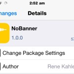 Disable Banner Notifications While Watching Videos With The NoBanner Cydia Tweak