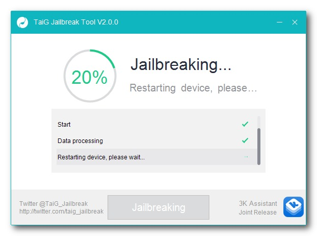 Fix TaiG iOS 8.3 Jailbreak Stuck At 20% Error