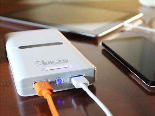 Juiced 24000mAh External Battery Charger StackSocial