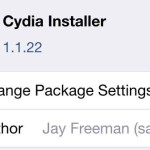Cydia Installer 1.1.22 Released, Includes Several Bug Fixes