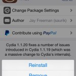 Here's How To Downgrade A Cydia Tweak Or Package
