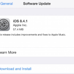 Apple Releases iOS 8.4.1 With Fixes To Apple Music
