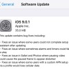iOS 9.0.1 Released: Fixes Slide To Upgrade Bug And Other Bugs
