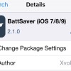 Improve Battery Life On iOS 9 With The BattSaver Tweak
