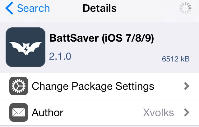 BattSaver iOS 9