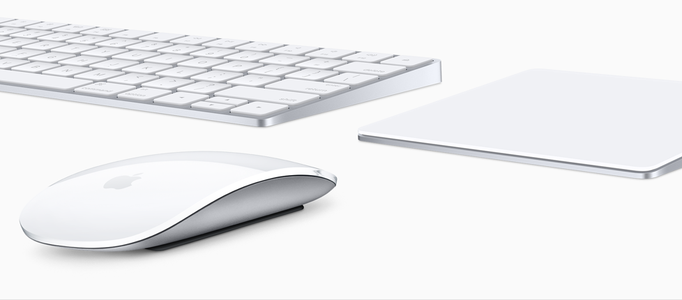 Magic Keyboard, magic mouse 2, magic trackpad 2