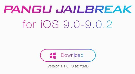 PanGu iOS 9 1.1.0